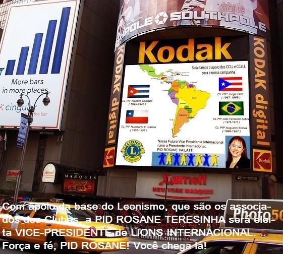 RUMO A VICE PRESIDÊNCIA DE LIONS INTERNACIONAL