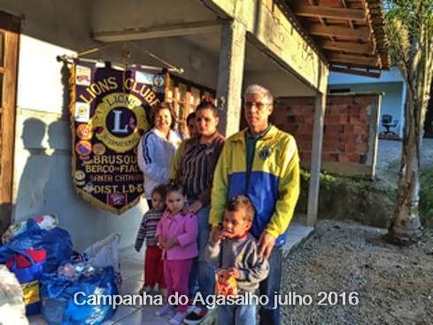 CAMPANHA DO AGASALHO  PARCERIA COM A SICREDI