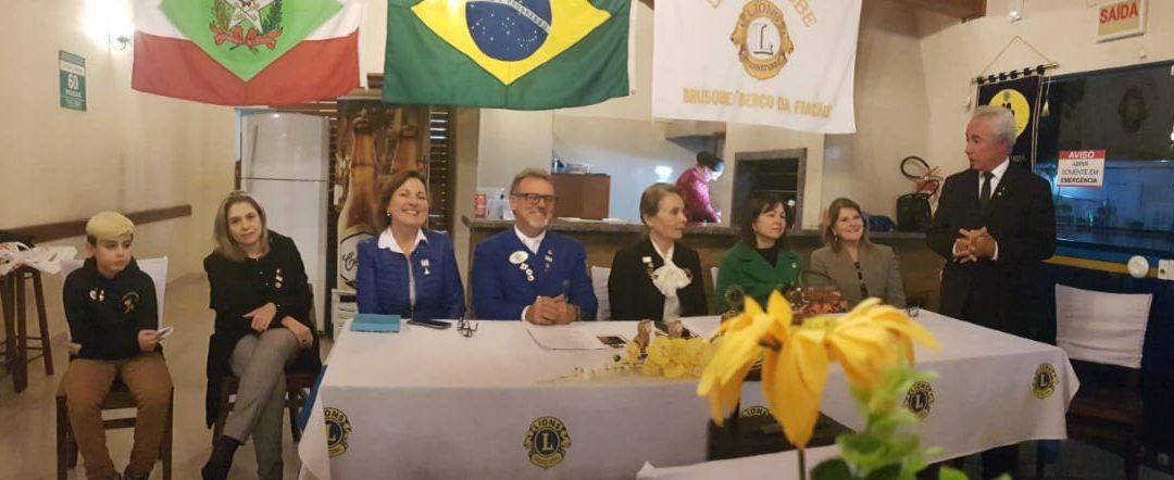 FUNDAÇÃO DO CLUBE DO LEÃOZINHO DO LIONS CLUBE DE BRUSQUE BERÇO DA FIAÇÃO