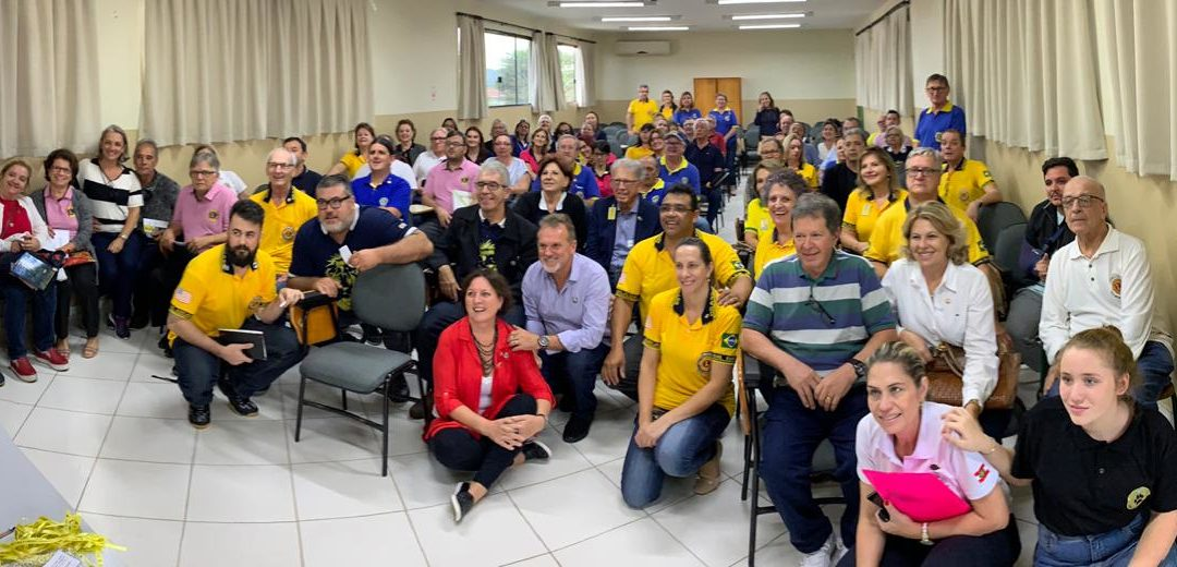 TREINAMENTO PARA DIRETORES DE CLUBES PARA O ANO LEONÍSTICO DE 2019 / 2020