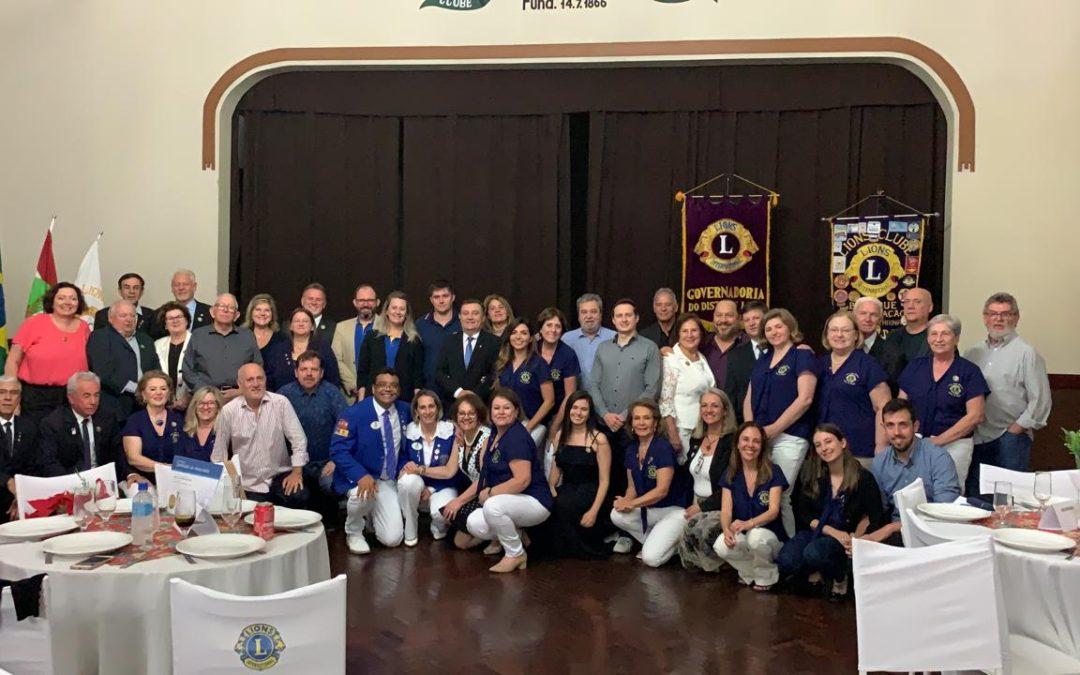 VISITA OFICIAL DO GOVERNADOR E 47 ANOSDE FUNDAÇÃO DO CLUBE: