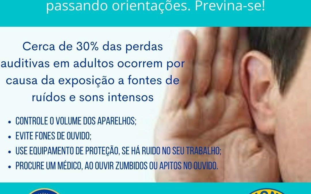 CAMPANHA DE PREVENÇÃO A SURDEZ